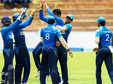 Sri Lanka defeated Zimbabwe by 6 wickets in the final. Image courtesy: Twitter/ @OfficialSLC