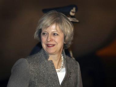 UK Prime Minister Theresa May. File photo. AP