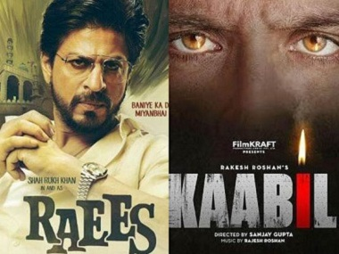 Hrithik Roshan's Kaabil to release a day before Shah Rukh Khan's Raees on 25 January