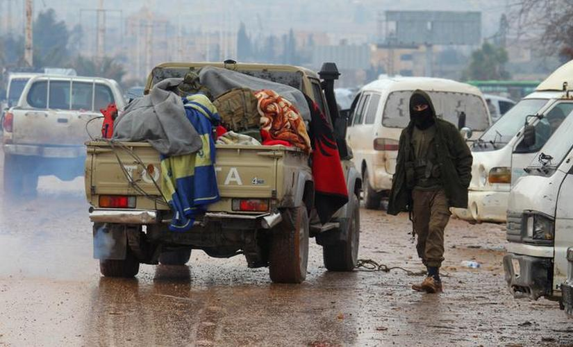 Syria 4000 rebels leave Aleppo in last stages of evacuation
