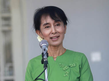Myanmar bypolls Aung San Suu Kyis National League for Democracy wins 7 of 13 seats