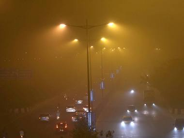 Delhi 82 trains delayed 16 cancelled because of drop in visibility caused by fog