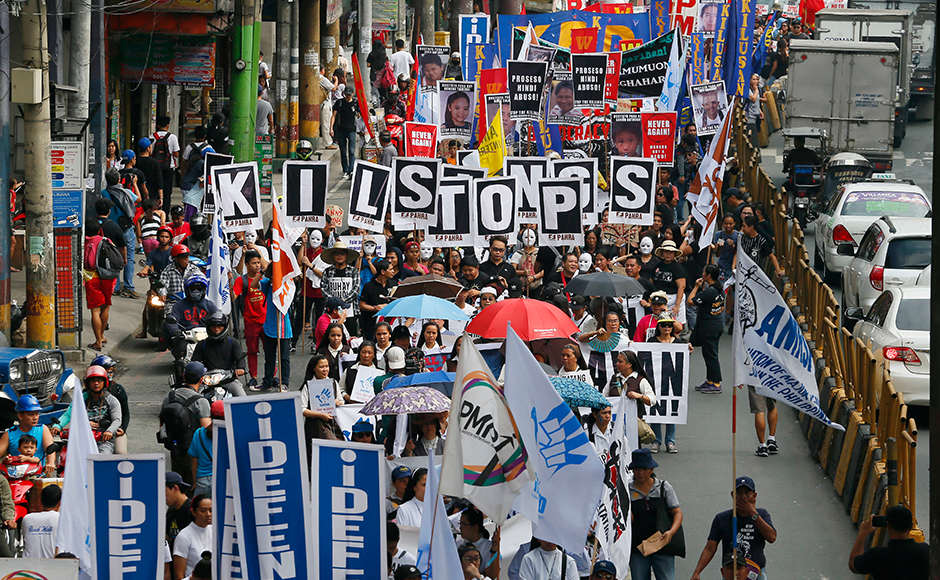 Philippines and Cambodia mark International Human Rights Day with protest and festivities