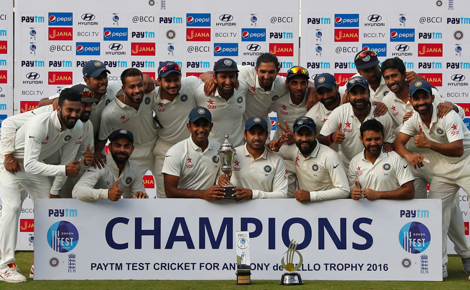 India vs England, 5th Test: Hosts crush visitors in Chennai test, win series 4-0