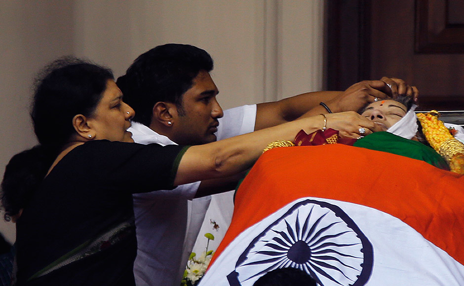 Jayalalithaa dead: Family, friends mourn death of former Tamil Nadu chief minister