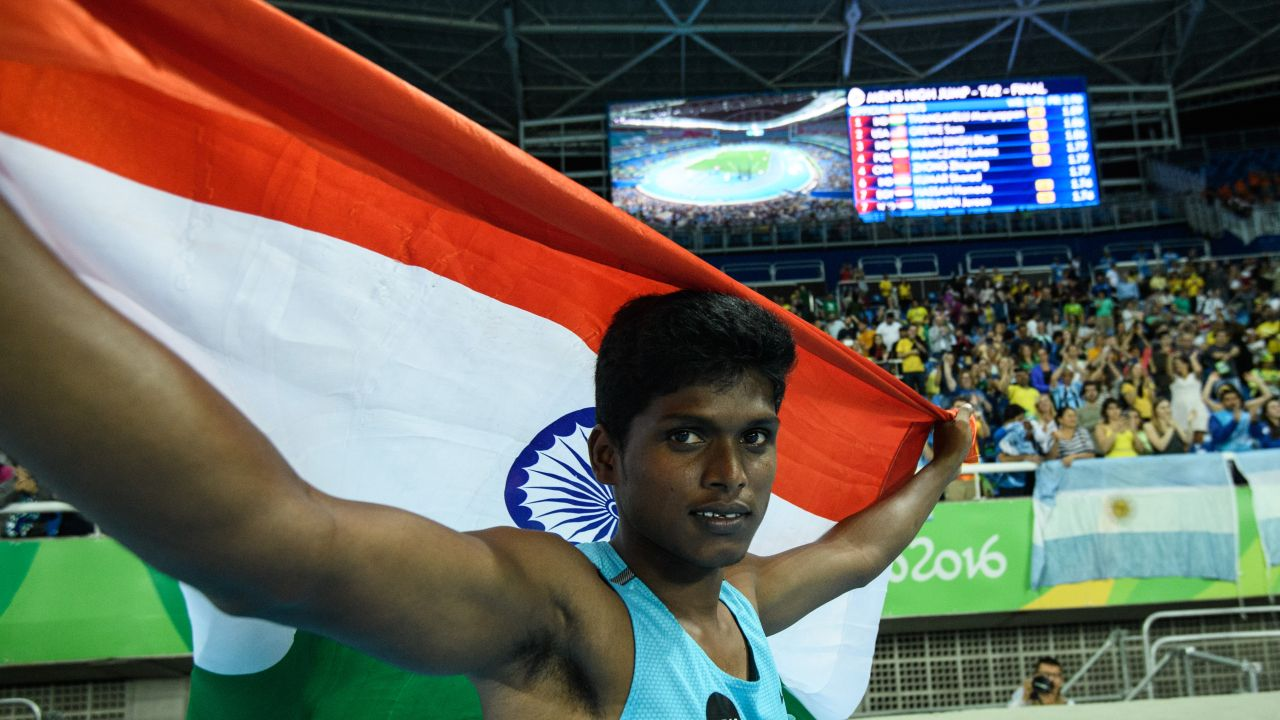 Mariyappan Thangavelu. AFP