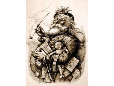 Santa Claus endearing legend and how it evolved over centuries of celebrating Christmas