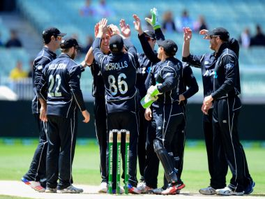 File photo of New Zealand cricket team. AFP