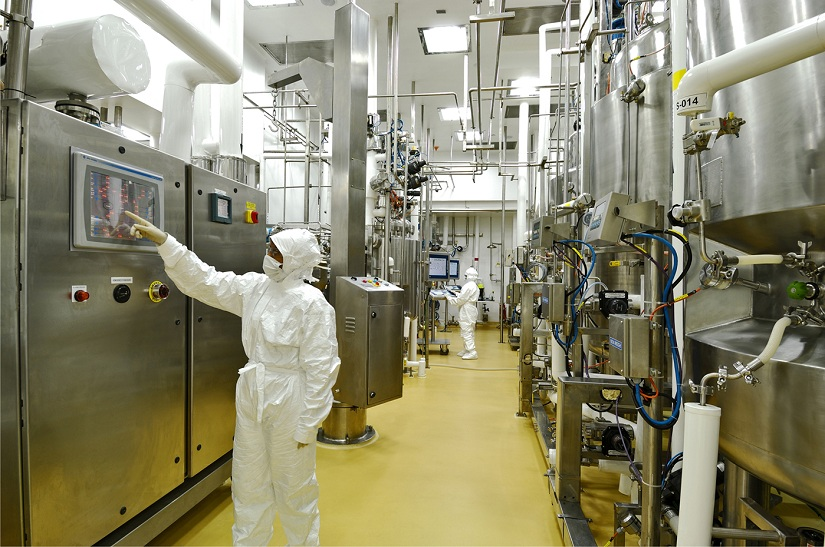 Manufacturing facility at Reliance Life Sciences