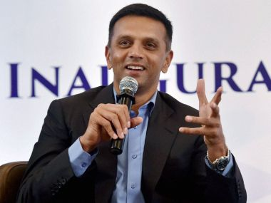 Former Indian cricketer Rahul Dravid. PTI