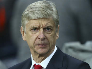 File photo of Arsenal boss Arsene Wenger. AP
