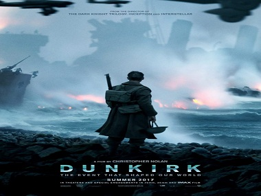 The poster of Dunkirk