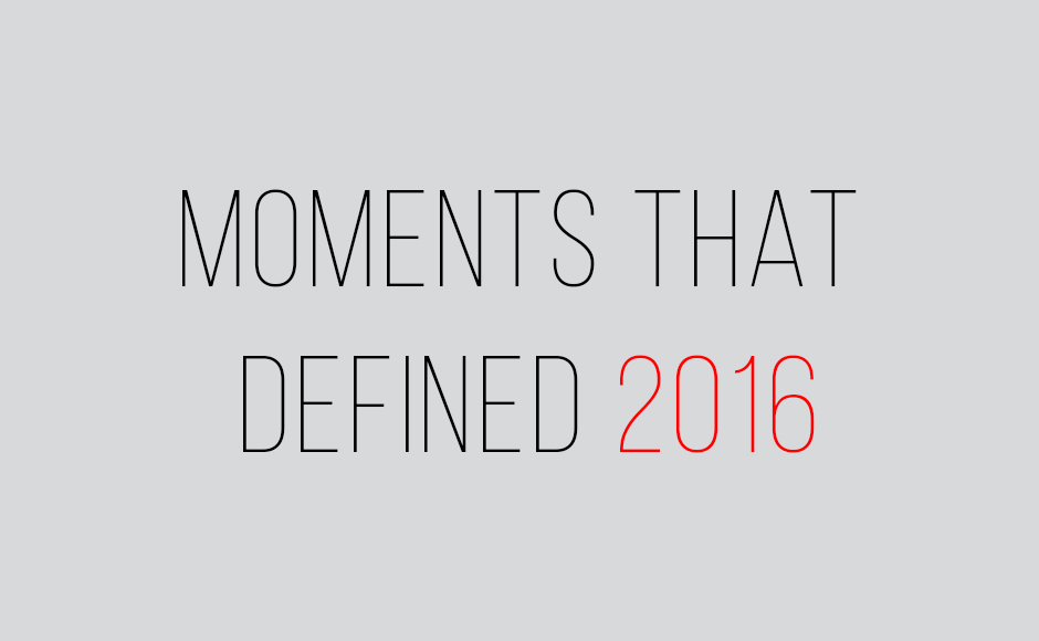 Year in review: Moments that defined 2016 for India