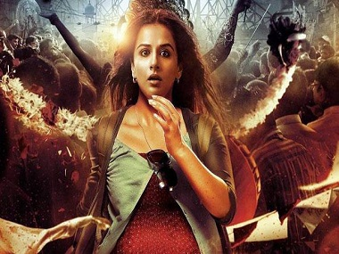 Vidya Balan in the poster of Kahaani 2