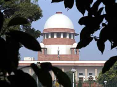 Supreme Court of India. Reuters file image