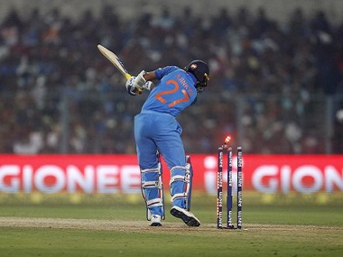 Ajinkya Rahane is bowled in the third ODI, highlighting Virat Kohli and Co's inability to deal with bounce. Reuters