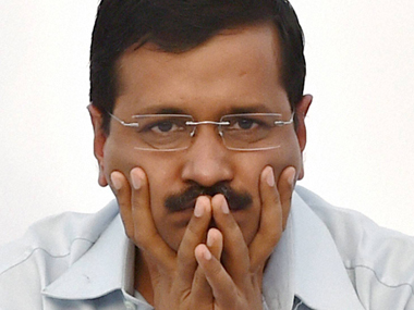 File image of Delhi chief minister Arvind Kejriwal. PTI