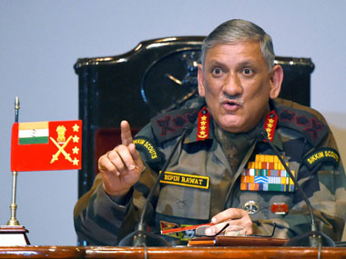 General Bipin Rawat. File photo. PTI