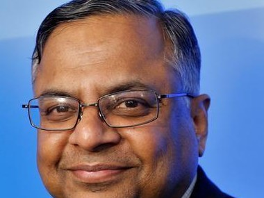 N Chandrasekharan, Chairman,Tata Sons. Reuters