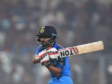 Kedar Jadhav has cemented his spot in India's ODI team with ecellent performance against England. AFP