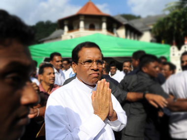 Sri Lankan president Maithripala Sirisena calls for action against attackers targeting Muslims
