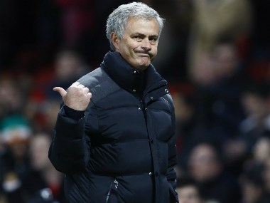 File photo of Manchester United boss Jose Mourinho. Reuters