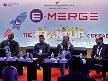 Panel discussion. Pic courtesy : Emerge, IMI