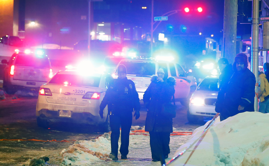 Six killed in shooting at a Quebec mosque in Canada