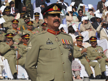 File photo of former Pakistani army chief Raheel Sharif. Reuters