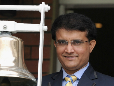 Sourav Ganguly Getty