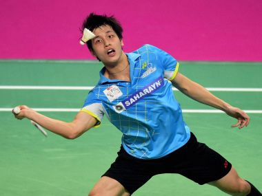 Wong Vincent Ki of  Awadhe Warriors. PTI