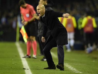 File phot of Zinedine Zidane. AFP