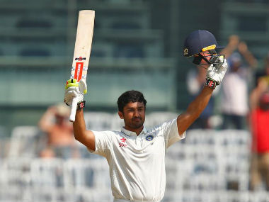 File photo of Karun Nair. Reuters