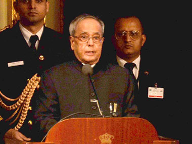 File photo of Pranab Mukherjee. PTI