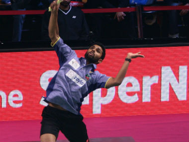 File picture of HS Prannoy. Image courtesy: Twitter/@PBLIndiaLive