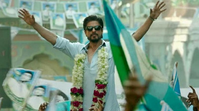 Shah Rukh Khan in a still from 'Raees'