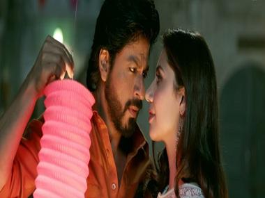 Shah Rukh Khan and Mahira Khan in a still from Udi Udi Jaye. YouTube