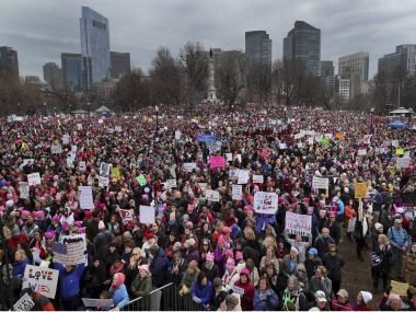 Women's marches draw millions in resistance to US President Donald Trump