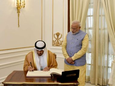 Economy defence and security policy How UAEs crown princes visit improved Indias standing in the Gulf