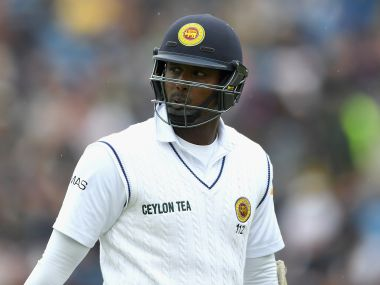 File picture of Sri Lanka's Angelo Mathews. Getty Images