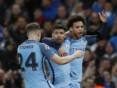 Champions League Sergio Aguero stars as Manchester City sink Monaco in thriller