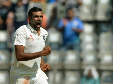 Ravichandran Ashwin is the fastest to reach 250 wickets. AFP