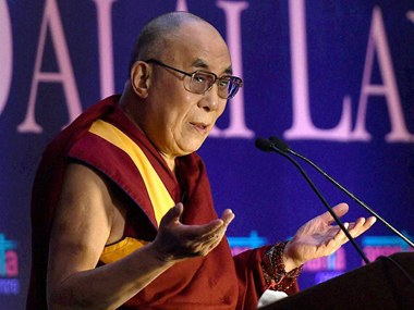 File image of the Dalai Lama. PTI