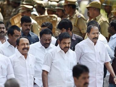 Tamil Nadu Chief Minister Edappadi K Palaniswami. PTI