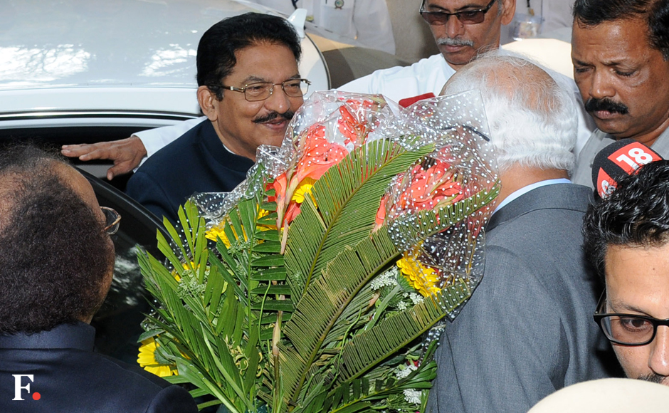 Governor Vidyasagar Rao attends a convocation in Mumbai even as Tamil Nadu slides into uncertainty