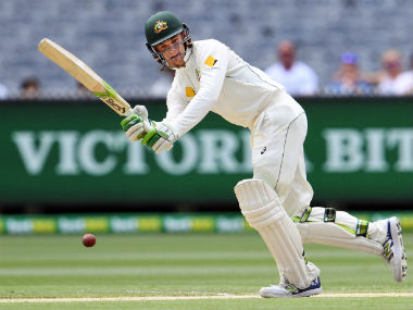 Peter Handscomb is ready for the spin challenge against India. AFP