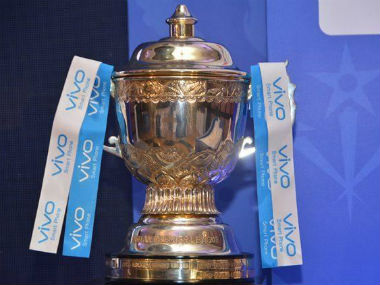 The IPL trophy (Representative photo). Image courtesy: BCCI official Twitter account