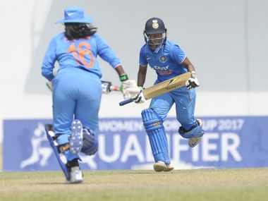 India beat Ireland to seal a spot in the Super Six stage of the tournament. Twitter/ @ICC