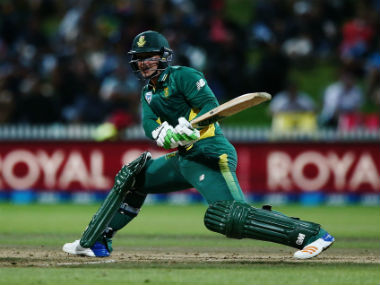 Quinton de Kock set the tone for the South African chase with a 69-run knock. Image courtesy: Cricket South Africa via Twitter