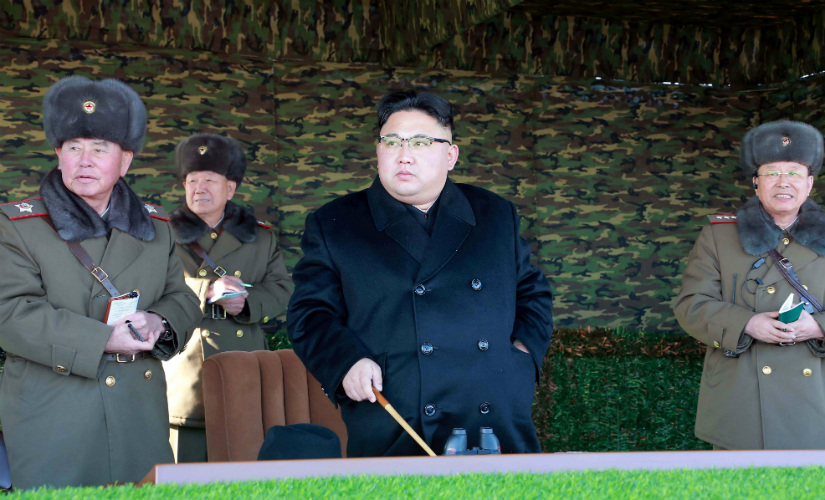 North Korean leader Kim Jong-Un. Reuters